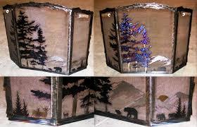 Decorative Screens Fireplace Decorative Screen Home Fireplaces Firepits Custom
