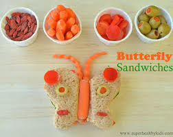 butterfly sandwiches with help healthy ideas for