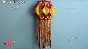 diy paper lantern aakash kandil diwali decoration how to make