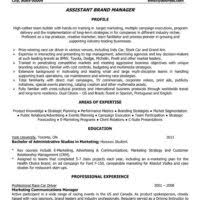 Resume Sample For Assistant Manager by Excellent Assistant Manager Resume With Personal Highlights And