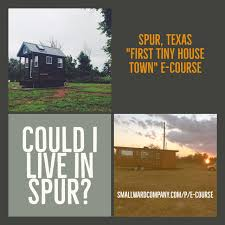 spurfreedom tiny house friendly community