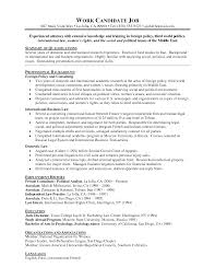 Resume Employment History Examples by Tax Attorney Resume Resume For Your Job Application