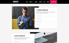 gravity agency html5 responsive website template