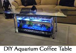Aquarium Coffee Table Diy Aquarium Coffee Table Lil Moo Creations