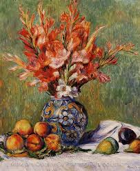 flowers and fruit reproduction painting auguste renoir flowers and fruit