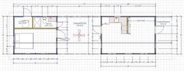 House Plans With Breezeway 504 Sq Ft Modern Cabin Great For Your Live Work Lifestyle