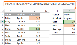 excel array formula examples for beginners and advanced users