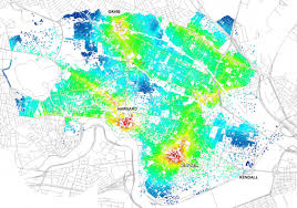 new mapping tool helps planners judge pedestrians public space