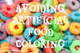 avoiding artificial food coloring u2022 accidentally green