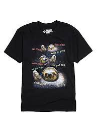 Sloth Meme Shirt - galaxy sloth t shirt hot topic