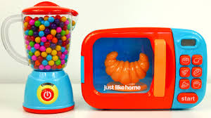 Kitchens For Kids by Microwave And Blender Just Like Home Kitchen Toy Appliances And