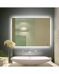 Bathroom Vanity Mirror With Lights Backlit Mirrors Bathroom Vanity Mirror With Lights Plans 10