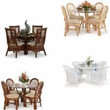 Indoor Wicker Dining Room Chairs Rattan Wicker Dining Room Furniture