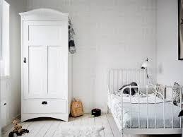 d o chambre blanche chambre d enfant monochrome blanche
