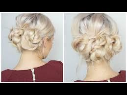 Hochsteckfrisuren Mittellange Haare Einfach by Hochsteckfrisuren Stylings Inspirationen Instyle