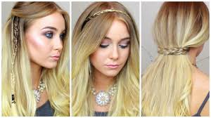 one braid hairstyles with or without hair extensions youtube
