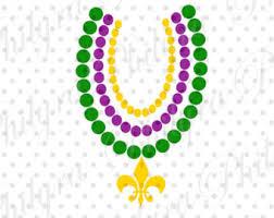 mardi gras beaded necklaces mardi gras etsy