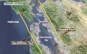 san francisco fault map how one ripple can equal a shake sms gazette