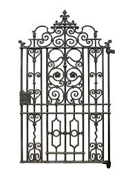 victorian cast iron side gate uk architectural heritage iron