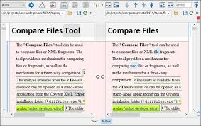 layout editor comparison compare files author mode png