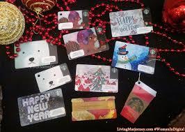 woman in digital starbucks planner 2017 u0026 ten holiday cards