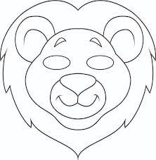 lion mask jungle masks