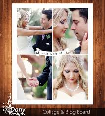 buy 1 get 1 free wedding blog board u0026 16x20 collage by donydesigns