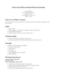 office assistant resume assistants resume resume cover letter