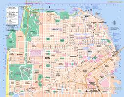 Printable Maps Printable Map San Francisco Printable Maps