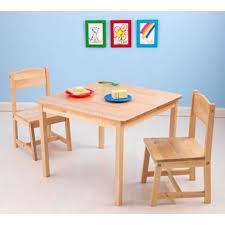 bureau pour enfant bureau pour chambre enfant en bois avec deux chaises achat vente