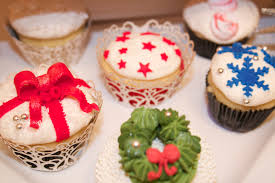 organic gourmet u0026 handmade christmas decorations cupcake ideas