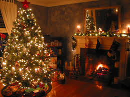 Beautifully Decorated Homes For Christmas Brick Fireplace Decorating Ideas Beautiful Decorate Home Living