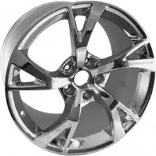 chrome corvette wheels corvette rear wheel grand sport style 19 x12 chrome z06 zr1