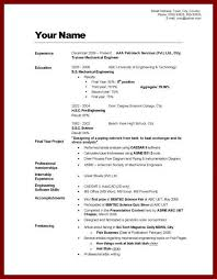 How To Right A Resume For A First Job by 28 How To Write A Curriculum Vitae 10 How To Write Job