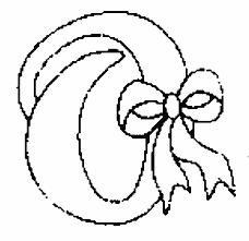 coloriage alphabet noel à colorier allofamille