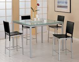Glass Kitchen Tables Home Design Styles - Glass kitchen tables
