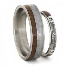 Antler Wedding Rings by His And Hers Handmade Wedding Bands By Johan Rust For The Men U0027s