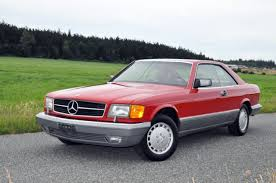 mercedes service records mercedes 500 series coupe 1988 for sale