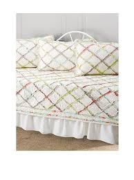 amazon com laura ashley 206829 ruffle garden 5 piece daybed set