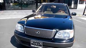 lexus ls400 1997 1999 lexus ls400 ucf20 2 two owner 69 000 orig mi ls 400 toyota