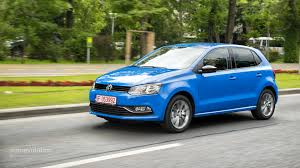 dark blue volkswagen 2014 volkswagen polo facelift review autoevolution