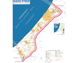 Ces Map Maps Of Gaza Strip Detailed Map Of Gaza Strip In English