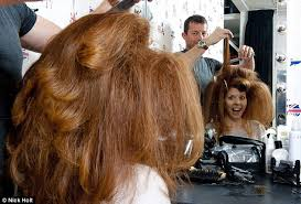 forced feminine hairstyles on men mad men makeover you have to work hard for those wolf whistles