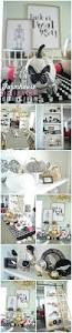 black and white dining room and white farmhouse halloween dining room simple ways to bring