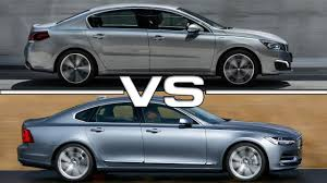 peugeot sedan 2017 peugeot 508 vs volvo s90 youtube