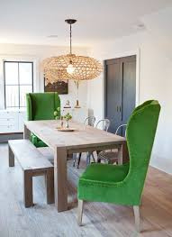 big dining room sets ease into this casual natural big sur dining room designed