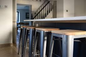 Dark Blue Kitchen A Minimalist Dark Blue Kitchen In Bradford On Avon
