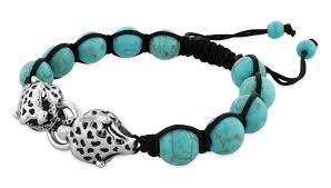 shamballa bead bracelet images Turquoise w steel panthers stone bead shamballa bracelet jpg