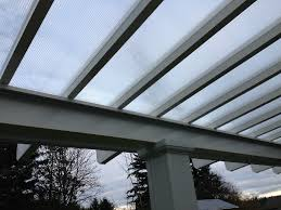 Clear Patio Roofing Materials Seattle Patio Cover Image Gallery