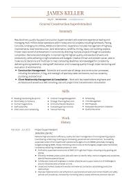 construction worker cv examples and template